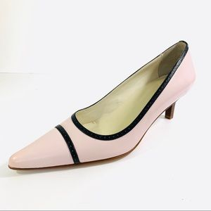 Italian Leather Casual Corner Pink Shoes